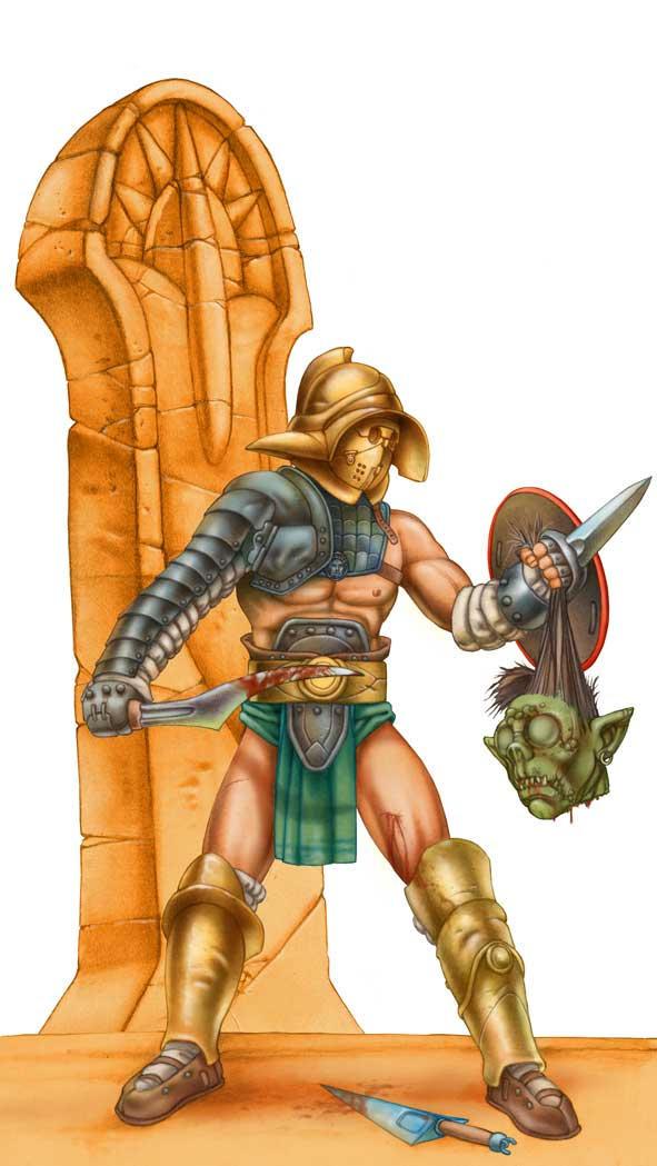 Gladiador by Lebbeus