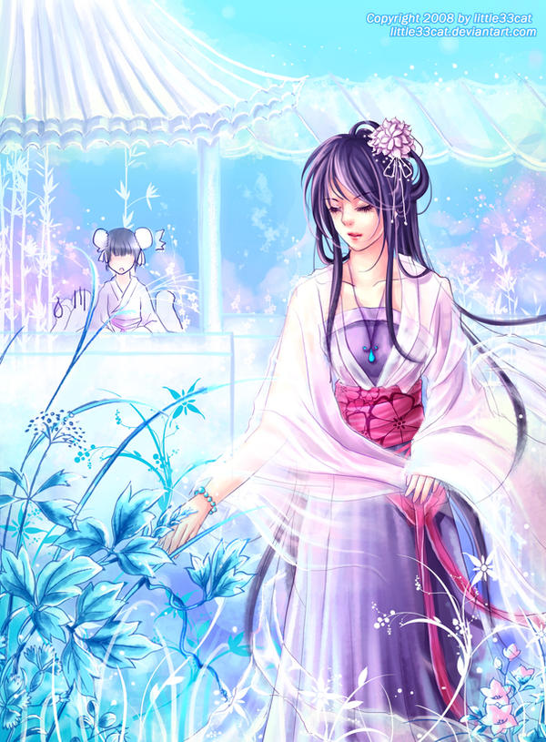 Spring Garden Of Ancient China By Little33cat On Deviantart