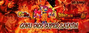 Goku Ssj Dios Portada by SonGohanZ2015