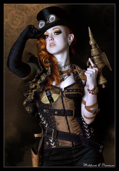 Steampunk by Helleana