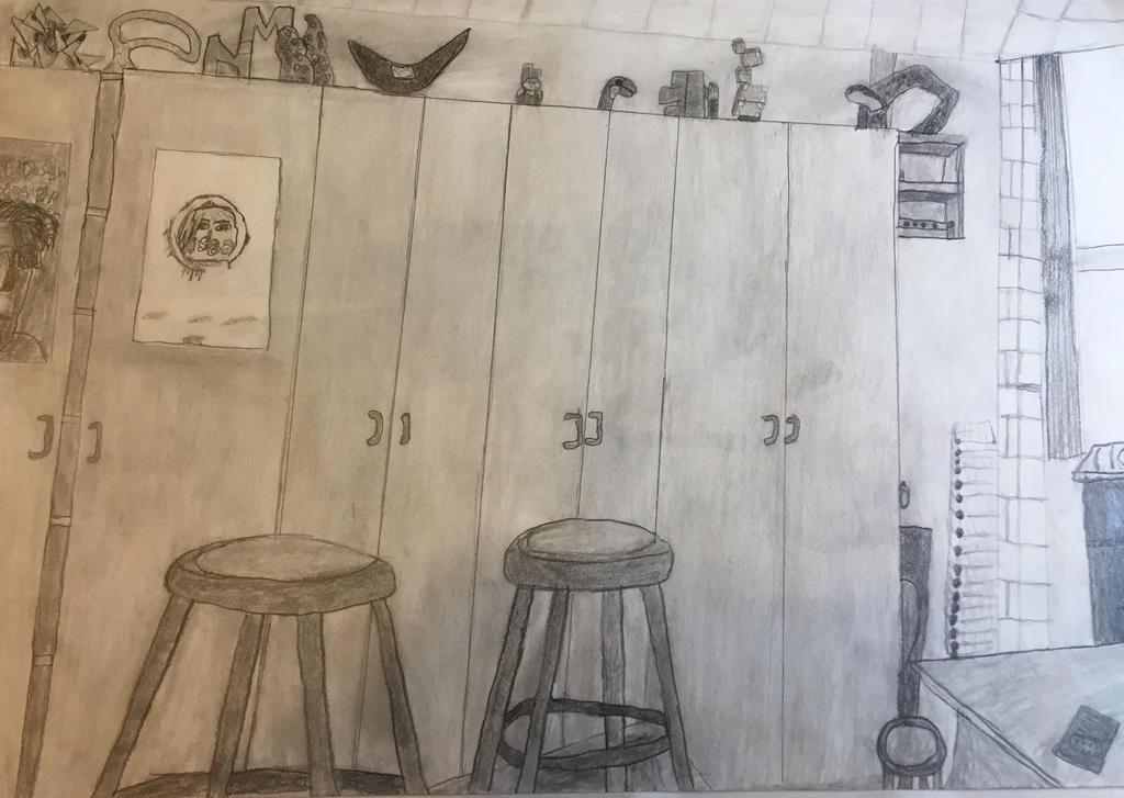 Art class by Zaranii