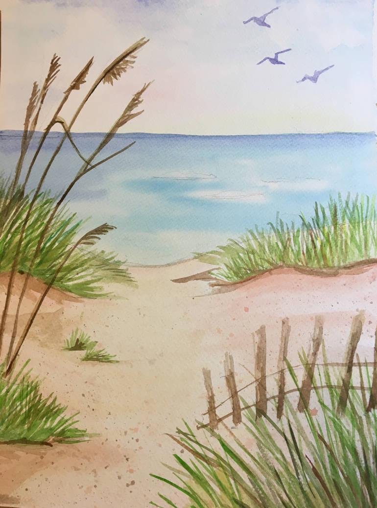 Beachscape by Zaranii