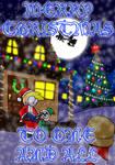 Christmas Card 'Santa's Village' by ExMedal