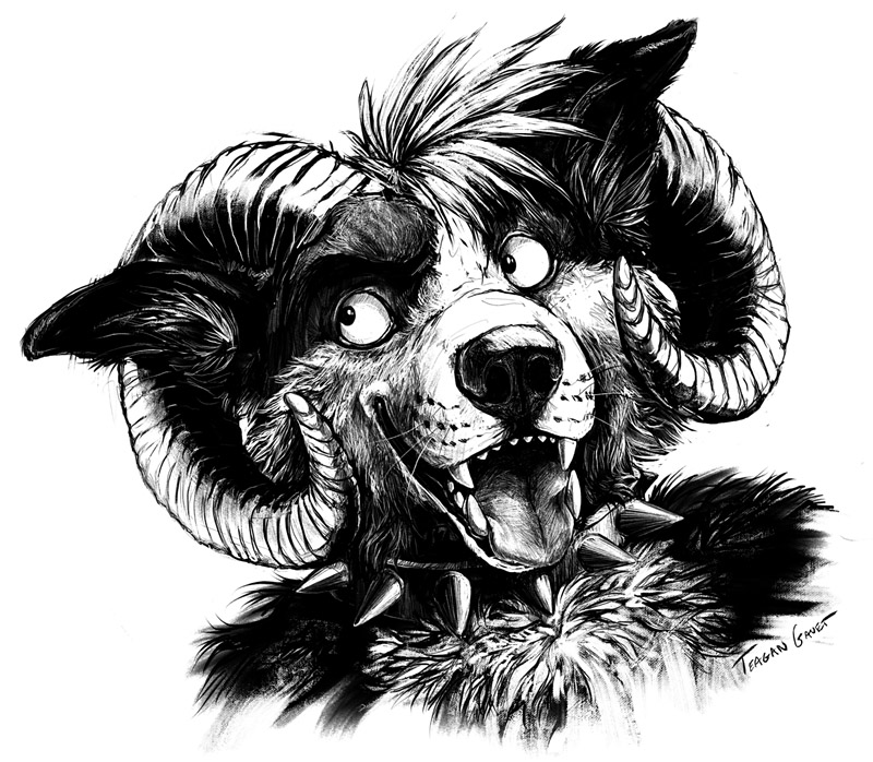 Bust Commission - Monstercollie by teagangavet
