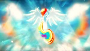 Rainbow Dash Wallpaper by LunaTisty