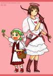 Yotsuba and Valentines