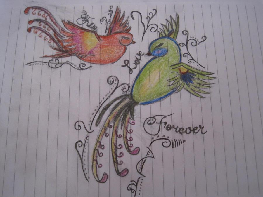 Tattoo Drawing by VampireDiaries14