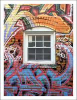 Graffiti Window No. 1 by courey