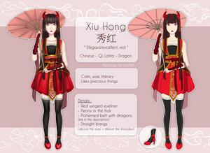 [OC]  Xiu Hong - Reference sheet