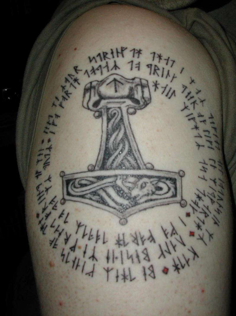 Runic Tattoo by chaosimagination