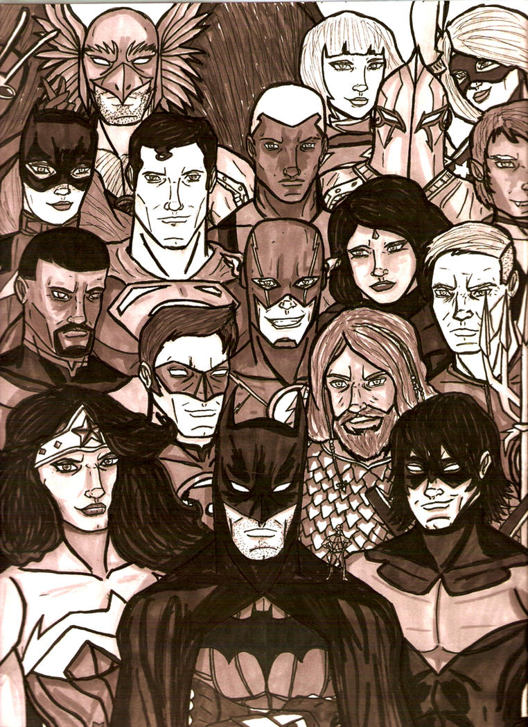 Daily DCU Day 263: Justice League by Marcus-Pechan