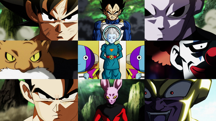 Wallpaper Torneo del Potere/Tournament of Power