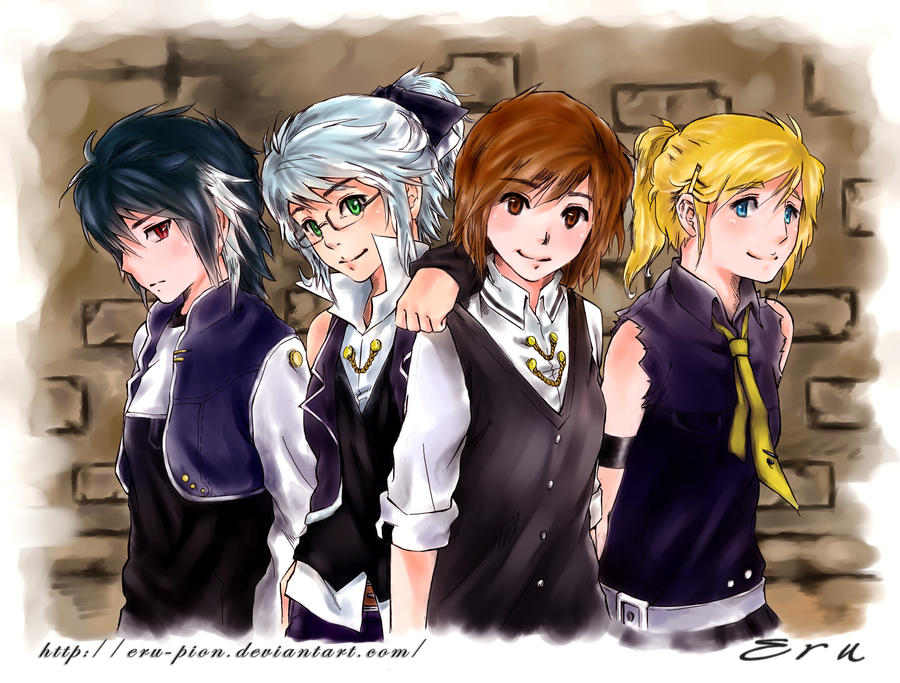 My group... by Eru-Pion