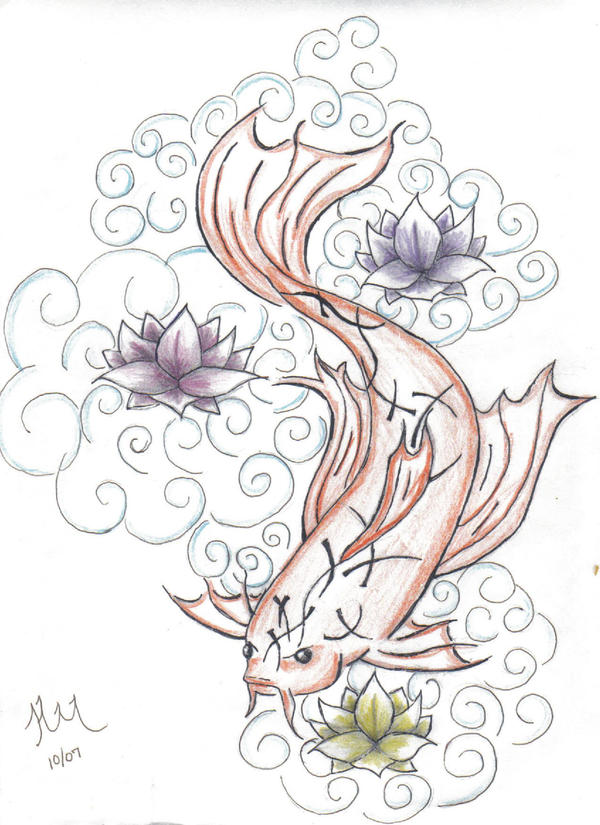 koi tattoo gallery. koi tattoo designs. koi