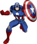 Captain America Marvel NOW! (AEMH Style)