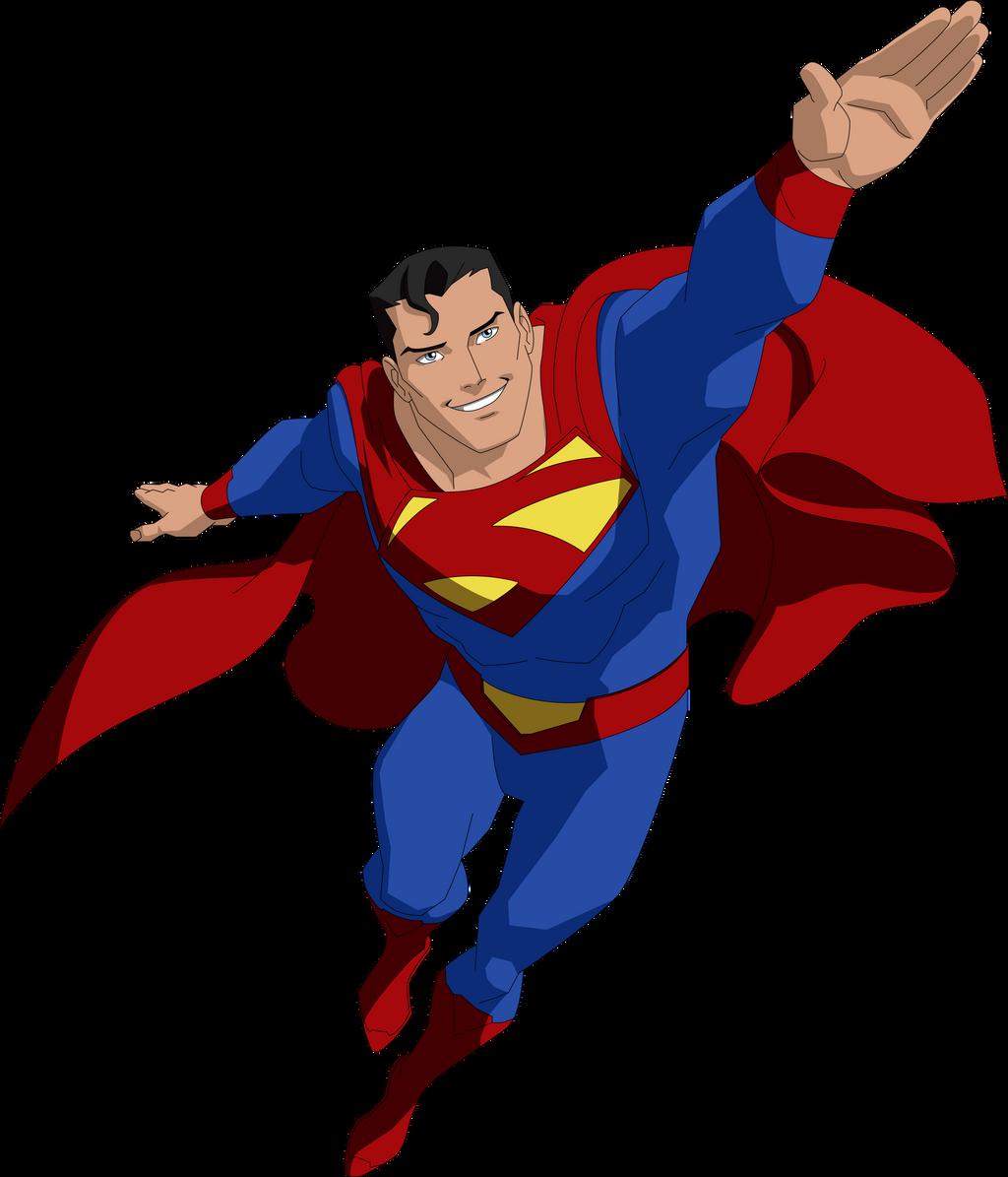 animated superman clipart - photo #40