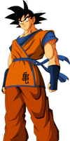 Goku (Saiyan Saga) MLL Redesign