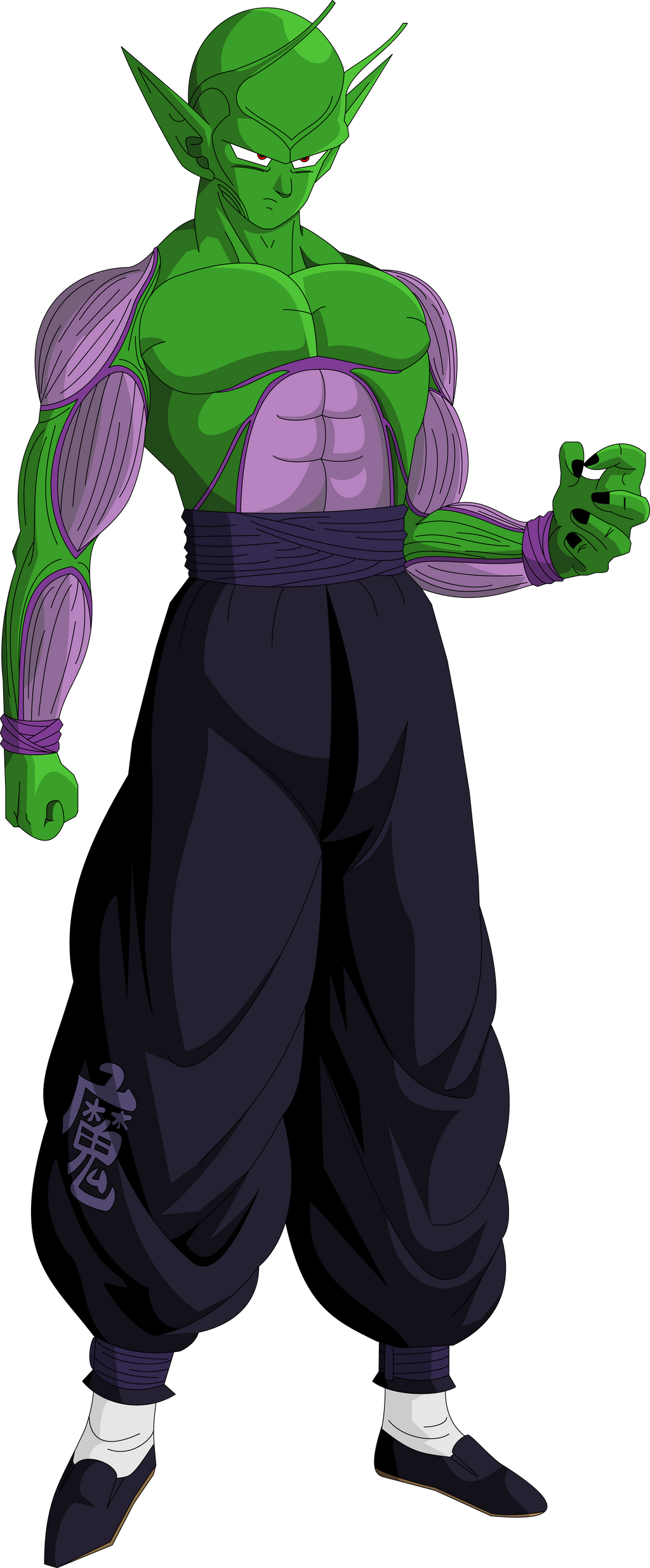 Piccolo (Saiyan Saga) MLL Redesign by OWC478