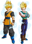 Goken and Nach (Super Saiyan 2) V1