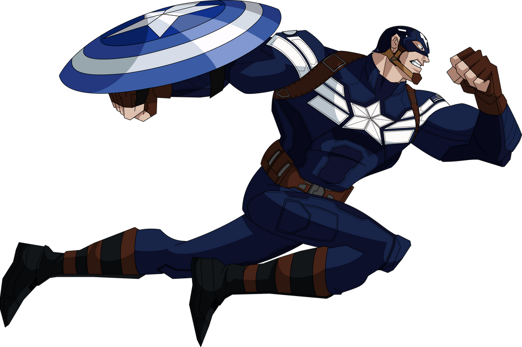 Captain America Cartoon Images: Captain America TWS (AEMH Style) By MAD-54 On DeviantArt