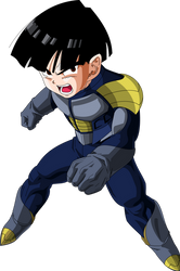 Kid Gohan (Frieza Saga)  MLL Redesign by MAD-54