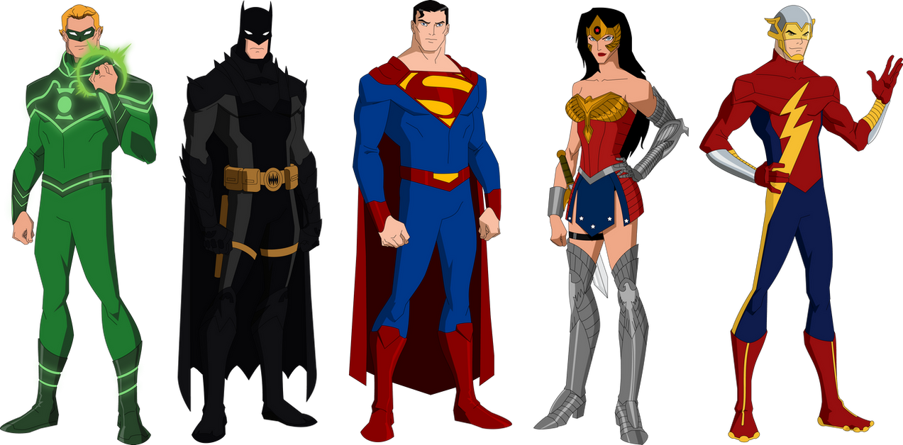 Justice Society of America by MAD-54