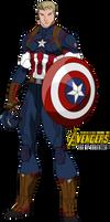 Captain America- Avengers (Age of Bourassa)