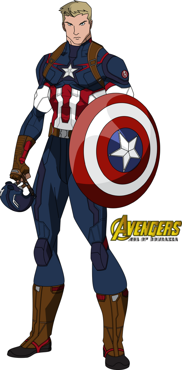 Captain America Avengers Age Of Bourassa By Mad 54 On