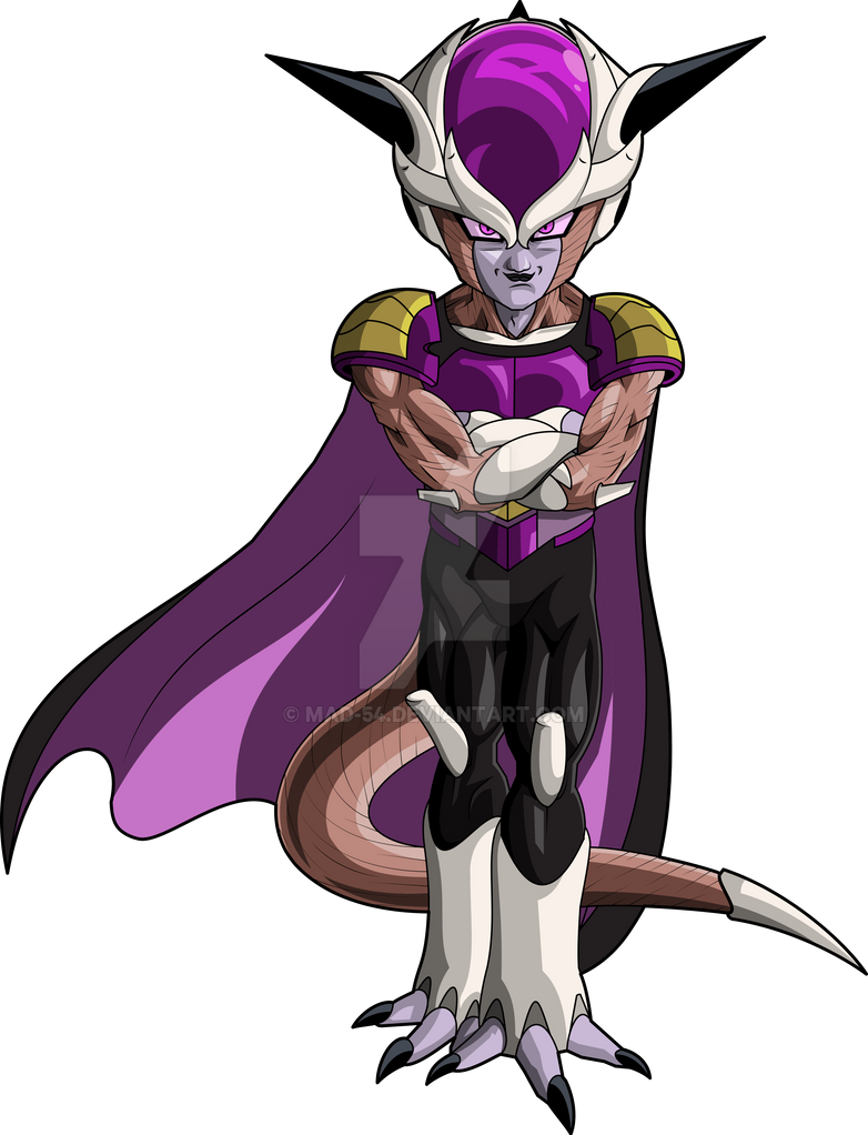 Frieza 1st Form (Frieza Saga) MLL Redesign by MAD-54 on DeviantArt