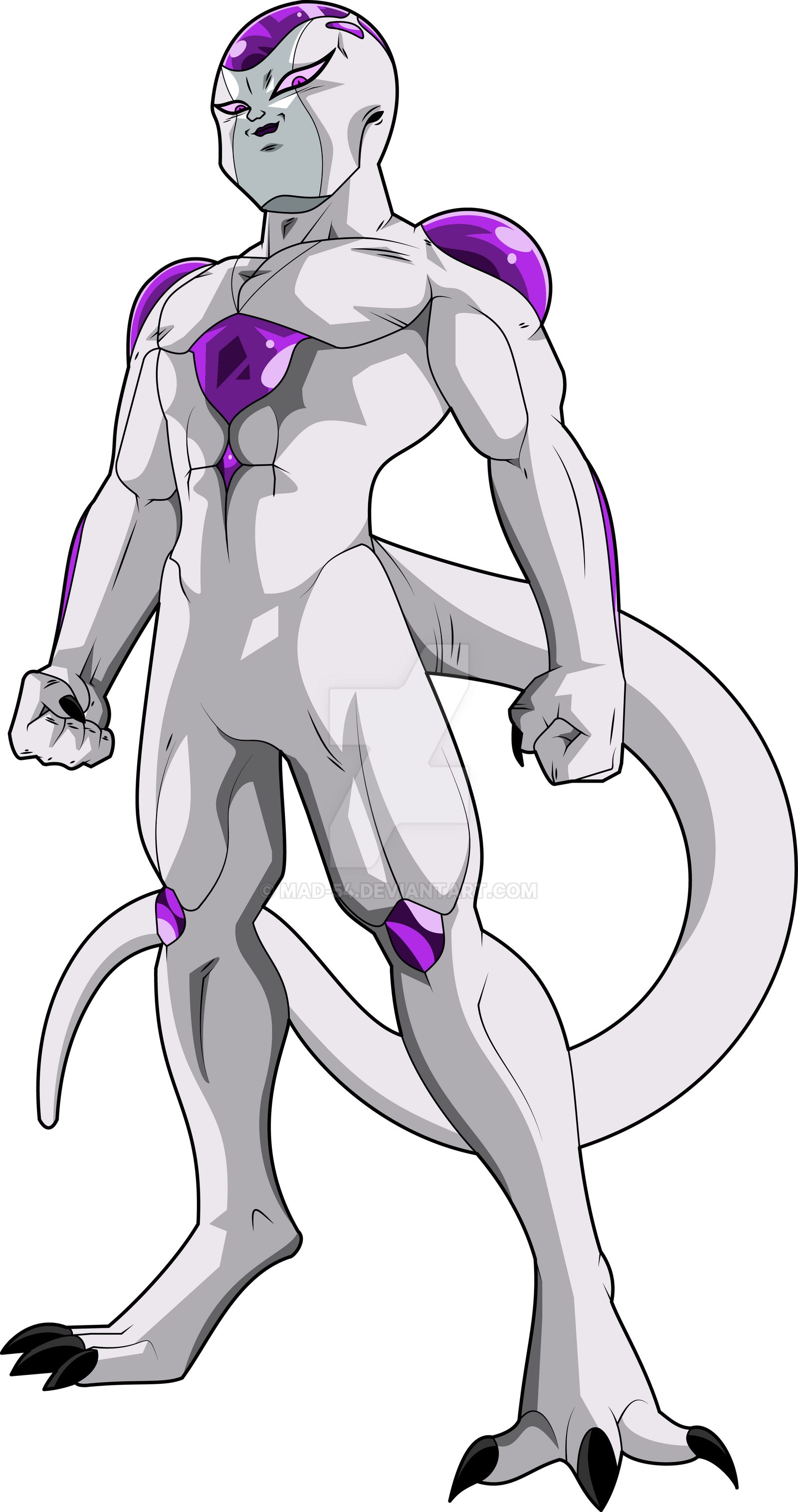 Frieza Final Form (Frieza Saga) MLL Redesign by MAD-54 on DeviantArt