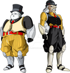 Android19 and Dr.Gero (MLL Redesign) Android Saga