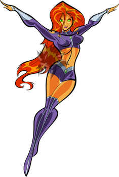 Starfire (Bruce Timm Style)