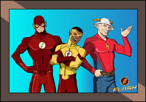 The Flash TV Series: THE FLASH FAMILY (JKM)