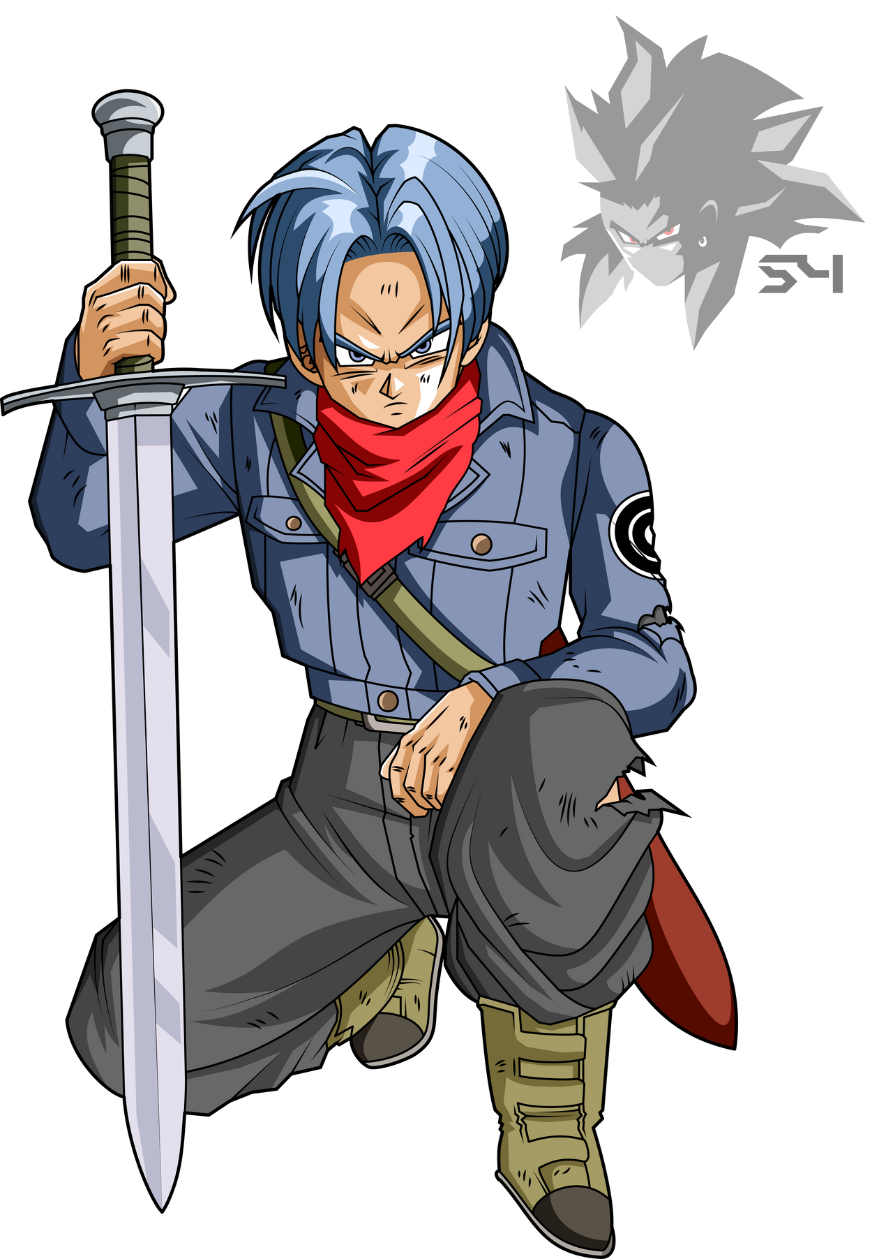 Future Trunks Dragon Ball Super By Mad 54 On Deviantart