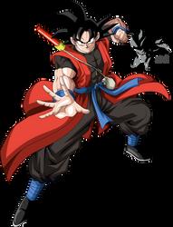 Time Patrol Goku by MAD-54