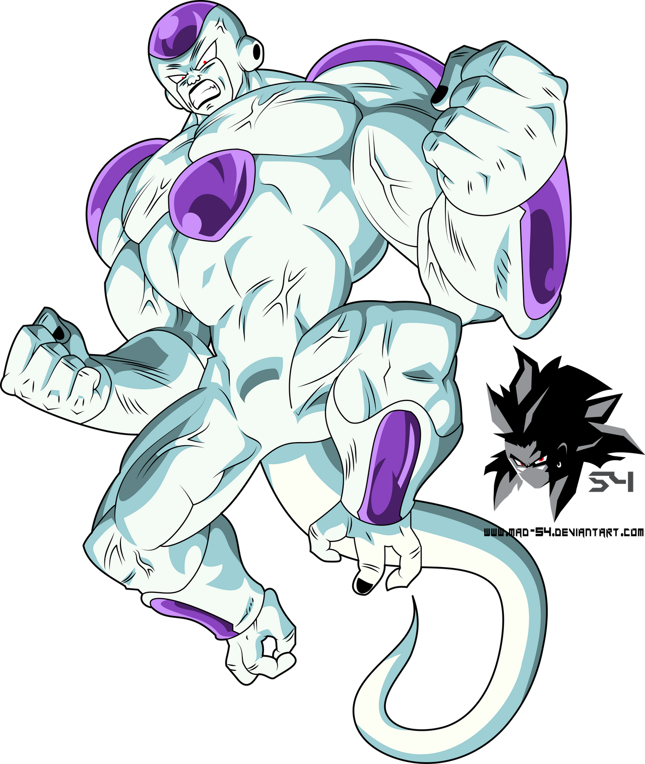 Final Form Frieza 100% Full Power by MAD-54 on DeviantArt