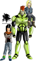 Androids 16,17 and 18 MLL Redesign (Android Saga)