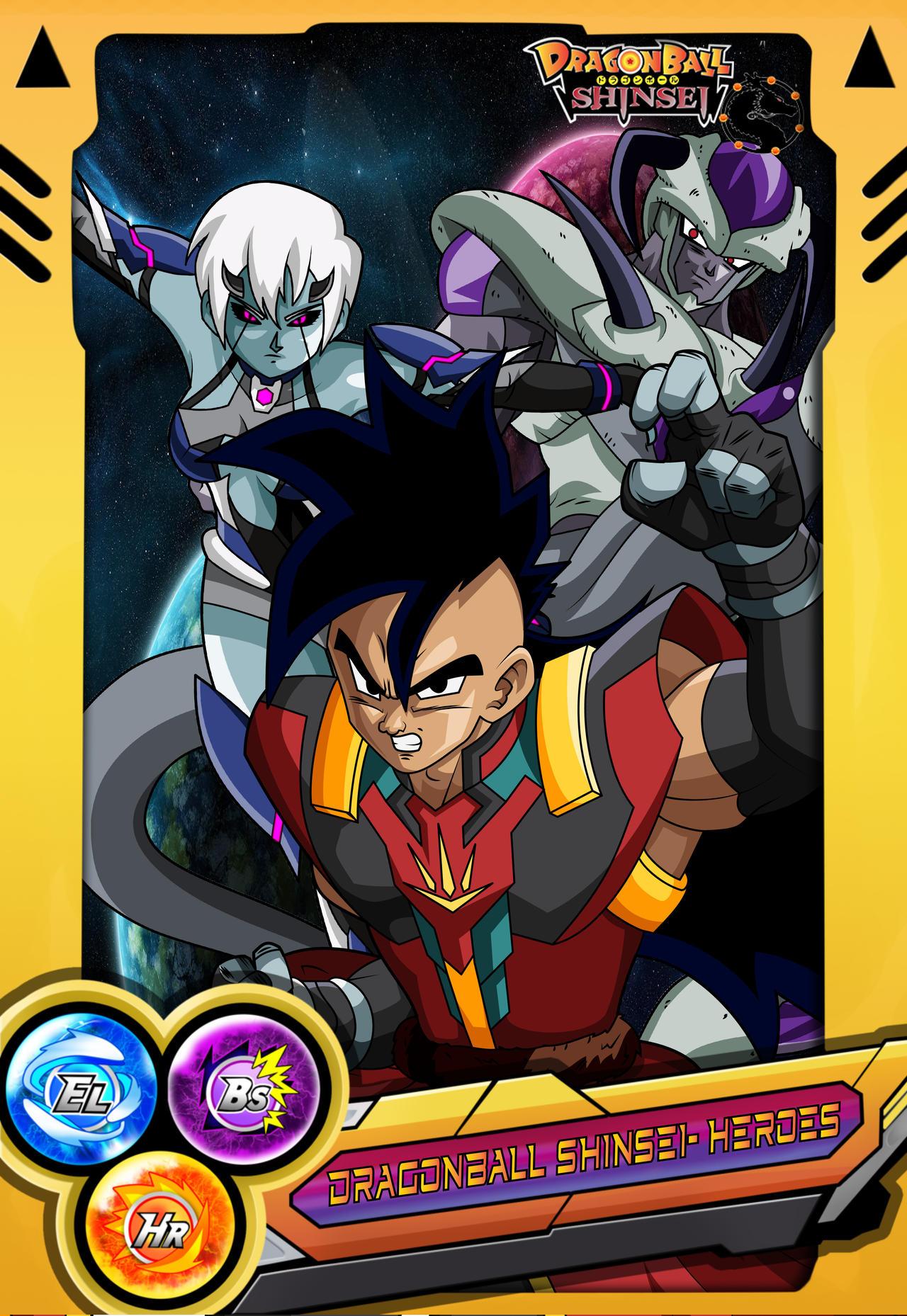 Dragonball Shinsei Heroes Mad Deviantart
