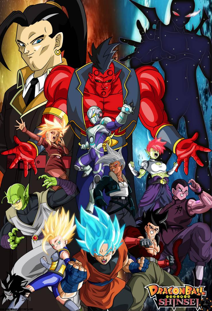 Dragon Ball Shinsei- Owari Saga by MAD-54