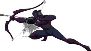 Earth's Mightiest- Hawkeye  by MAD-54