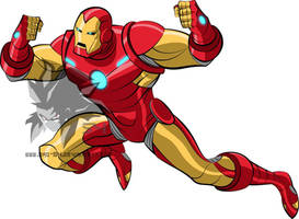 Earth's Mightiest- Ironman  by MAD-54