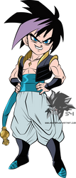 Gotenks MLL Redesign  by MAD-54