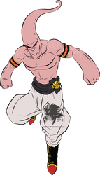 Super Buu MLL Redesign by MAD-54