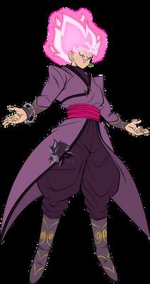 Super Saiyan Rose Goku Black MLL Influenced