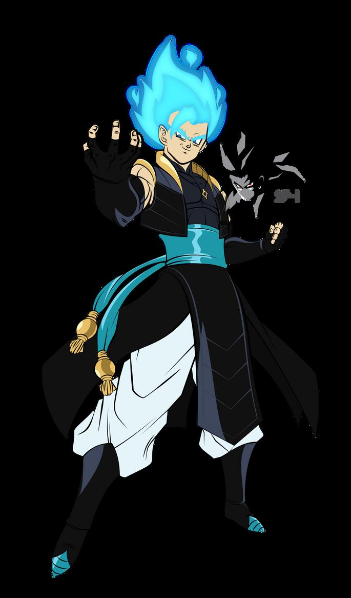 Super Saiyan Blue Gogeta MLL Influenced  by MAD-54