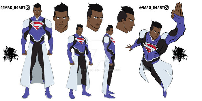 A Superman of a Different World (Ref sheet)
