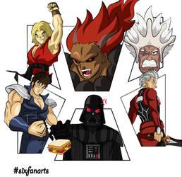 Six Fan Art Character Challenge