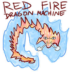 Red Fire Dragon Machine cover