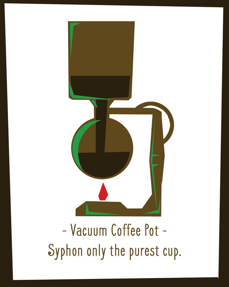 Coffee Designs - Vac Coffee Pot