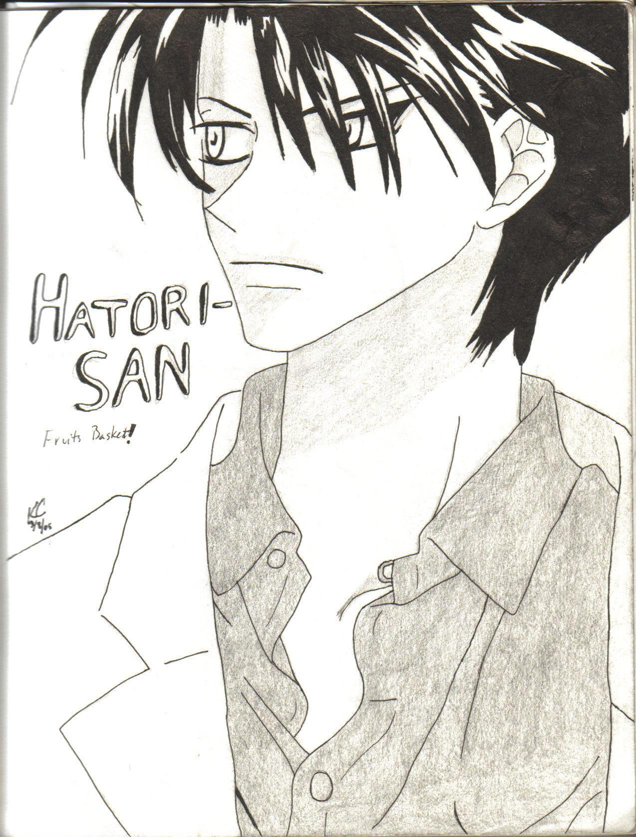 hatori fruits basket by kyleculver on deviantart